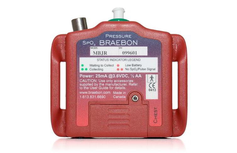 Портативная система для ночного кардио-респираторного мониторирования MediByte Junior